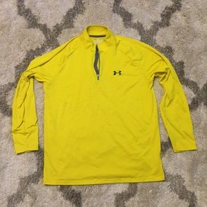 1/4 Zip Pullover Under Armour Yellow